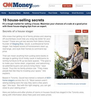 Staging Diva Featured in CNN Money
