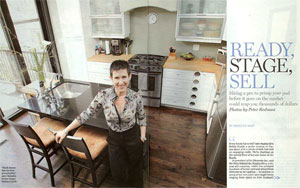 Staging Diva Featured in National Post
