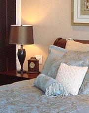 bedroom after home staging
